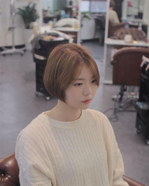 voluminous short bob kpop korean hair and style