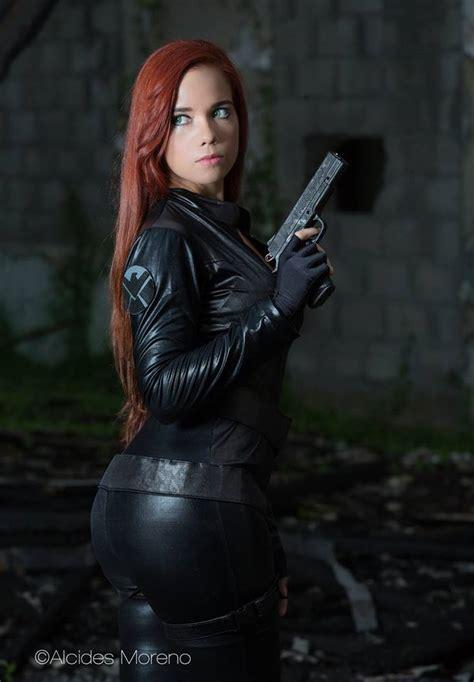 black widow cosplay  windy