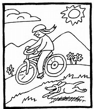 HD Wallpapers Bike Safety Coloring Pages For Kids
