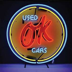 Chevy Ok Used Cars Neon Sign TP Tools & Equipment
