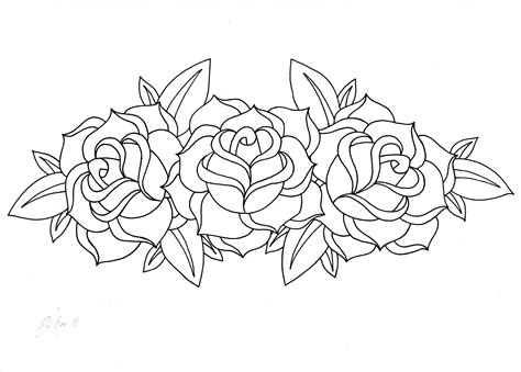 Big S And Roses Coloring Pages Big Best Free Coloring Pages