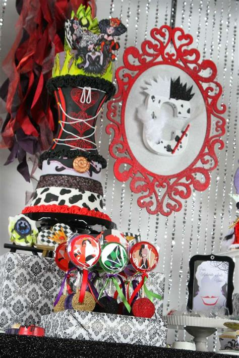 disney villains halloween party ideas photo
