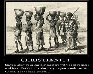 These Are The Biblical Verses Used By Slave Masters To ...