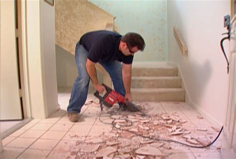 how to remove a tile floor how to install tile flooring how tos diy