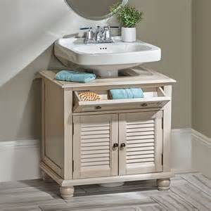 newport louvered pedestal sink cabinet storage cabinets