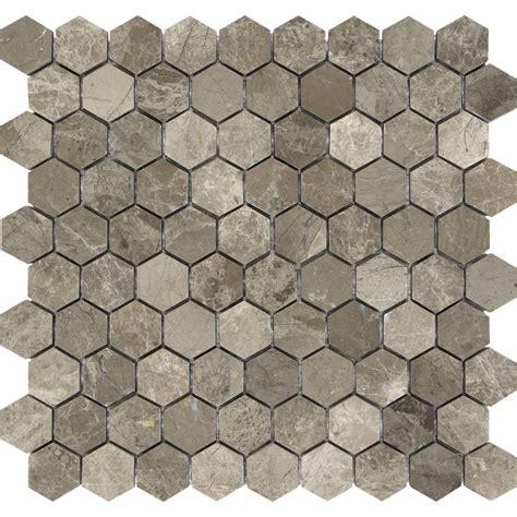 hexagon tile lowes tile design ideas