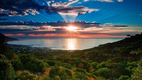 South Africa Sunset Wallpaper Hd