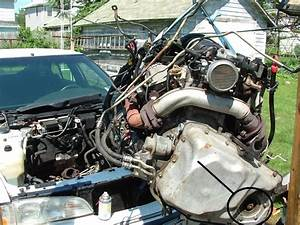 Service Manual  Removing 1990 Buick Century Transmission
