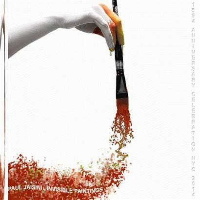 Brush Painting Jaisini Paul Homage Giphy Invisible