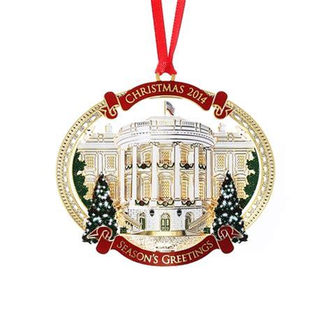 2014 white house christmas ornament giannini design complete 24kt gold finish truman s