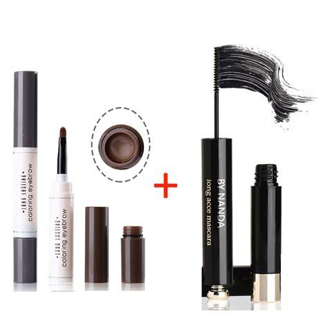 waterproof eyebrow gel pencil   fiber eyelashes