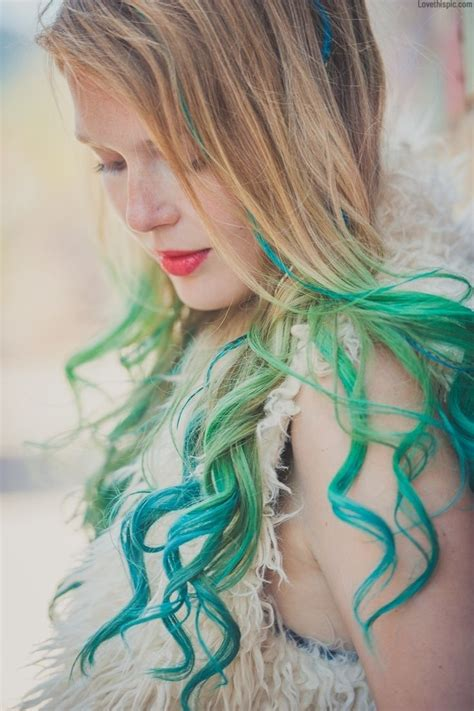 400 Best Images About Rainbow Hair On Pinterest Her Hair