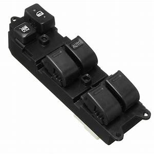14 Pins Master Power Window Switch Front Right For Toyota Land Cruiser 1990