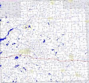 Lapeer County Michigan Map