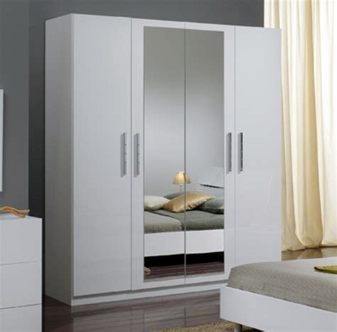 eco cuisine armoire 4 portes gloria blanc