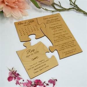 best 25 puzzle wedding ideas on pinterest creative With creative inexpensive wedding invitations