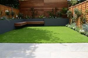 Garden, Design, Chelsea, Screen, Raised, Beds, Wonderful, Planting, Artificial, Grass, Floating, Hardwood