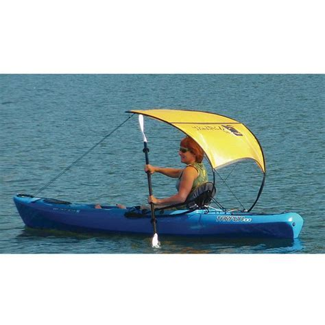 Windpaddle Sun Shade, Kayak Accessories   Boundary Waters