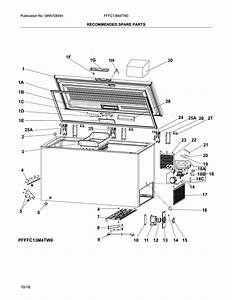 Looking For Frigidaire Model Fffc13m4tw0 Chest Freezer Repair  U0026 Replacement Parts