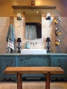 Commode Vintage Pas Cher : meuble salle de bains pas cher 30 projets diy ~ Teatrodelosmanantiales.com Idées de Décoration