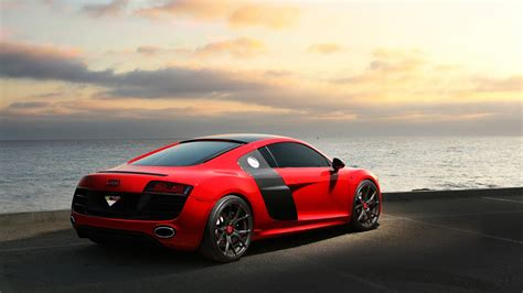 Car Wallpapers : Vorsteiner Audi R8 Carbon Graphite 5k 2 Wallpaper