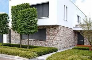 Hausfassade Weiß Anthrazit : r ben klinker bricks einfamilienhaus handformverblender geestbrand bunt wei haus ~ Markanthonyermac.com Haus und Dekorationen