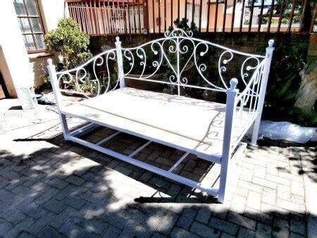 karen steel metal iron day bed image manufactured