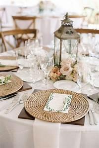 Set De Table Osier : 10 id es champ tres pour glisser des objets en osier dans votre d coration de mariage ~ Teatrodelosmanantiales.com Idées de Décoration