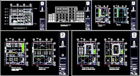 dwg libreria comercios varios archives planos de casas planos de