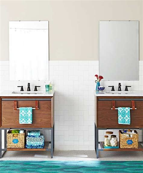 smart storage ideas for small spaces 30 smart storage ideas for small spaces 30 | Smart Storage Ideas for Awkward Bathroom Wall Space