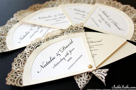 fans wedding theme real weddings stationery by nulki nulks
