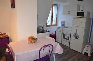 Le Bon Coin Aix Les Bains : vue sur la cuisine depuis le salon du studio meubl ~ Gottalentnigeria.com Avis de Voitures