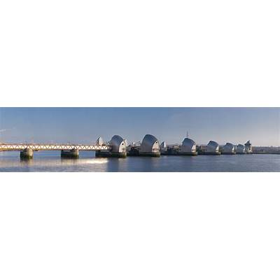 The Thames Barrier: London's Moveable Flood Defense