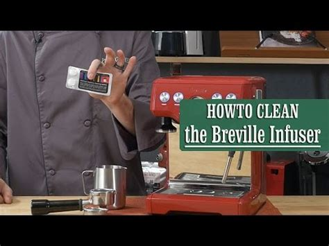 clean breville  infuser espresso machine