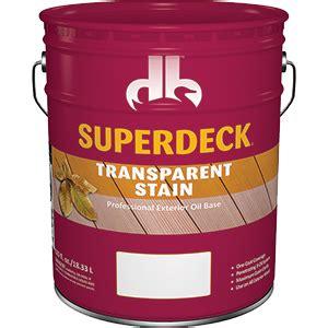 duckback  superdeck transparent stain