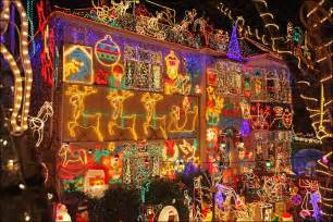 bbc photos of one of uk s biggest christmas light displays