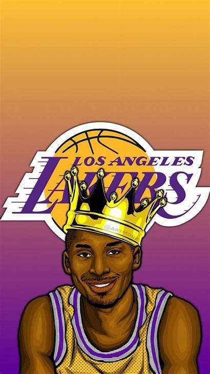 Kobe Cartoon Lakers Wallpapers Lebron