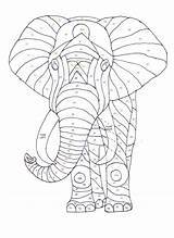 Elephant Pattern Paper Piecing Quilt Patterns Applique Block Quilts Quilting Craft Pieced Began Violet Patchwork Sewing Simple Poster Browsing Ve sketch template