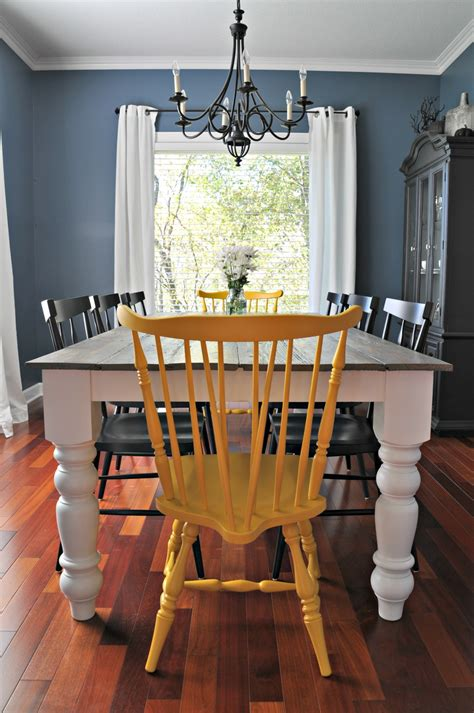 rooms to go farmhouse table free farmhouse dining table plans decor and the dog