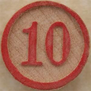 Bingo Number 10
