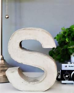 Buchstaben Aus Beton : beton buchstaben selber machen brigitte kreativ heft ~ Sanjose-hotels-ca.com Haus und Dekorationen