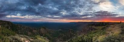Rim Mogollon Arizona Forest Coconino National Sunset