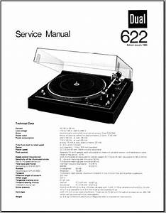 Dual 622 Turntable Service Manual  Analog Alley Manuals