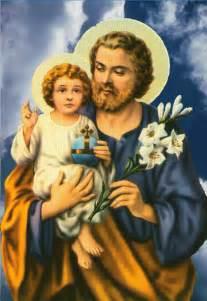 Saint Joseph and Baby Jesus