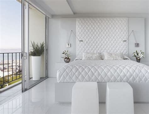 Dream White Bedroom Decorating Ideas-decoholic