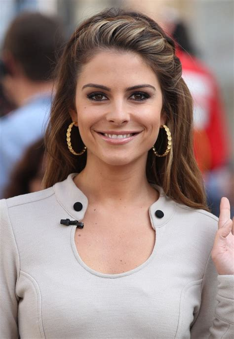 maria menounos pretty french braid  spring styles weekly