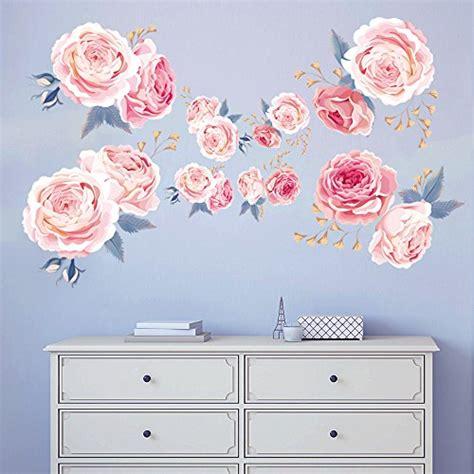 fiori adesivi per pareti adesivi murali fiori grandi sconti adesivi murali