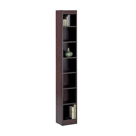15 inch deep bookcase top 15 narrow bookshelf and bookcase collection