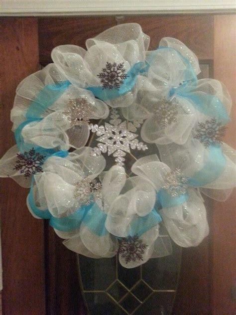 ideas for bedrooms my quot frozen quot inspired wreath wreath wreaths