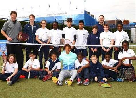 Wimbledon champion Rafael Nadal serves children shock ...